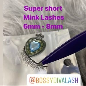 Super Short Mink Lashes
